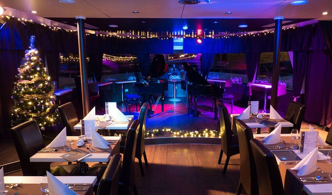 Budapest Christmas Dinner Cruise 2017 Organized By Silverline Cruises