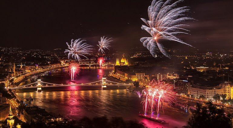 Budapest Silvester Schifffahrt
