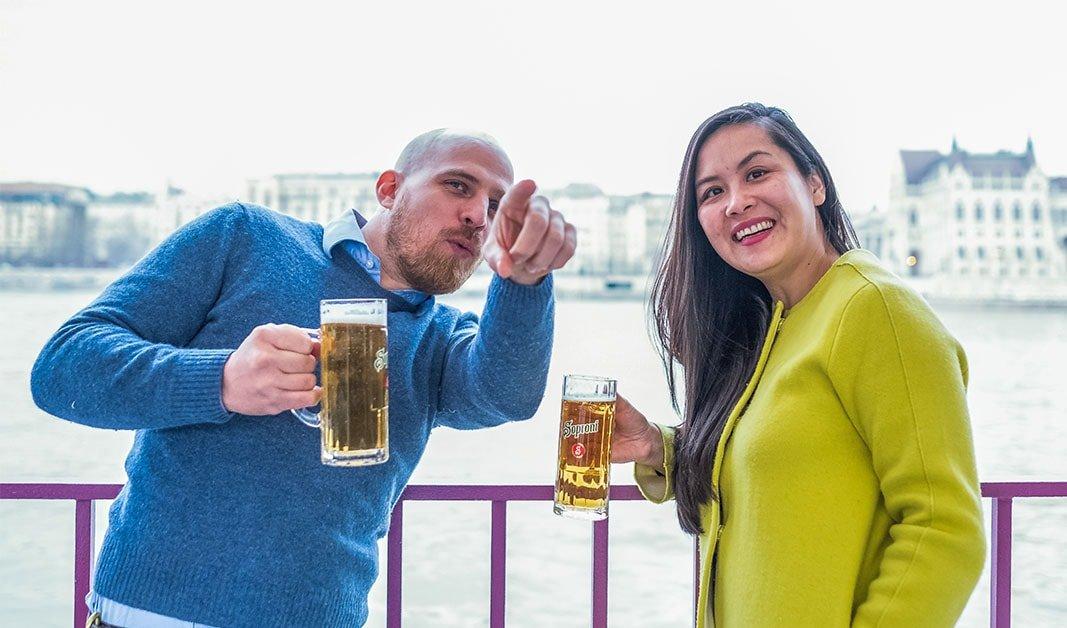Sightseeing und Bier