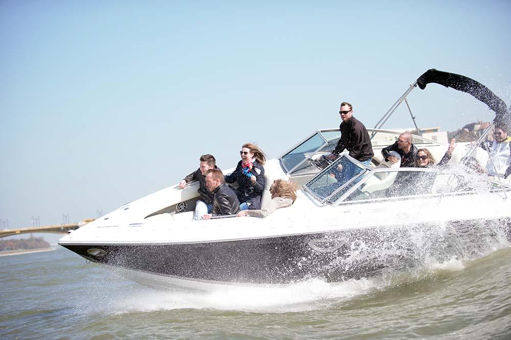 Spaß auf der Donau