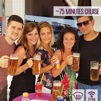booze cruise budapest