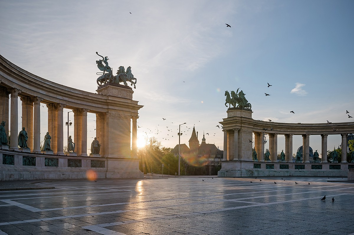 Budapest in February