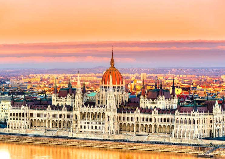 Hungarian Parliament tour