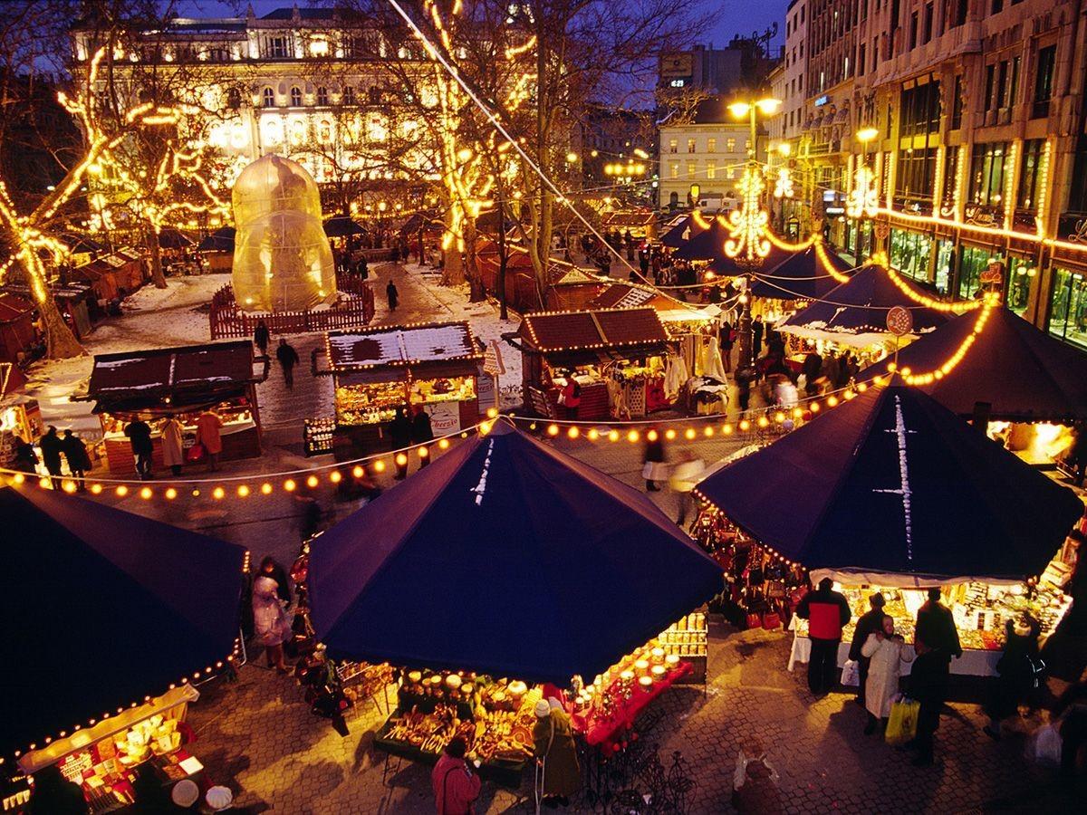 Christmas markets of Budapest